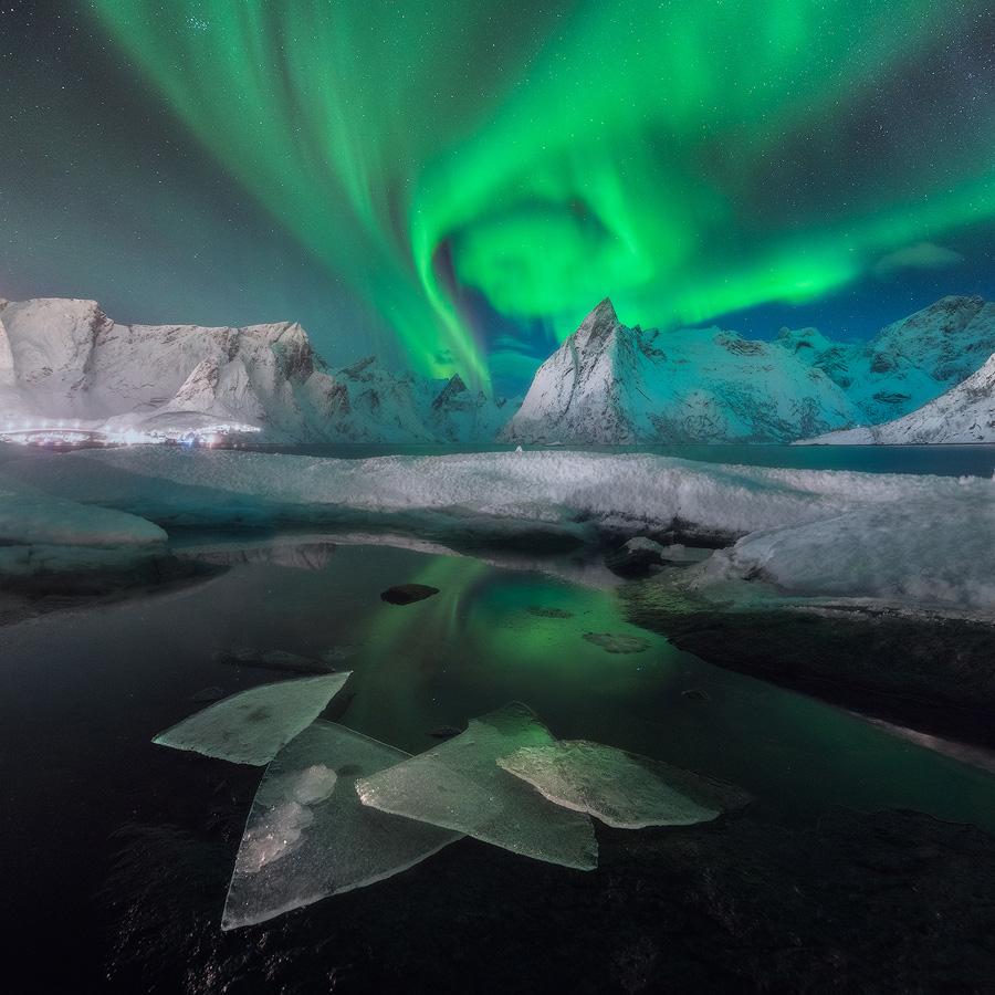Aurora tornado, © Daniel Kordan, Russia, 2 place in nomination Landscape — night, 35AWARDS Photo Contest