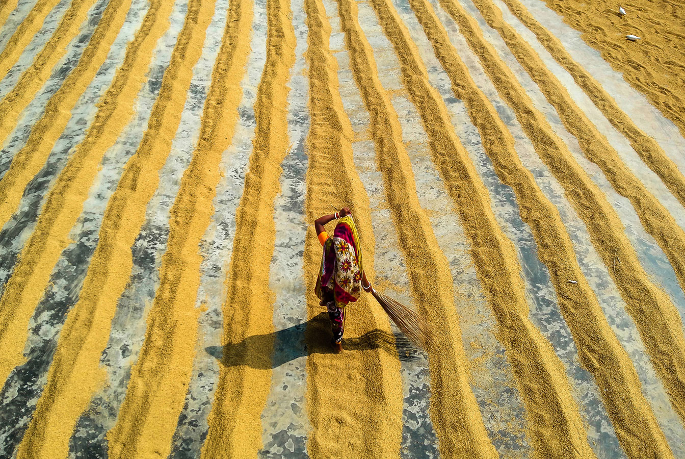 The broom, © Ehsanul Siddiq Aranya, Bangladesh, 1 place in nomination Mobile photography, 35AWARDS Photo Contest