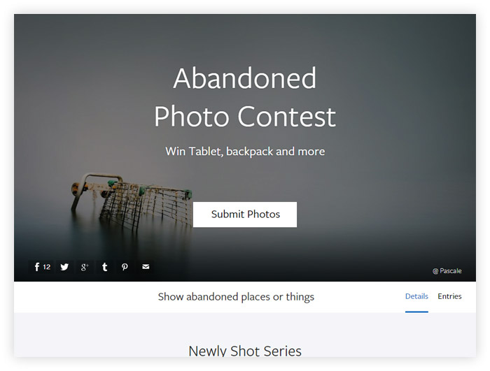 Abandoned Photo Contest