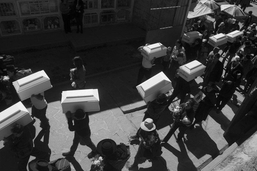 Tiny Caskets, Alejandro Olazo, Peru, Allard Prize Photography Competition