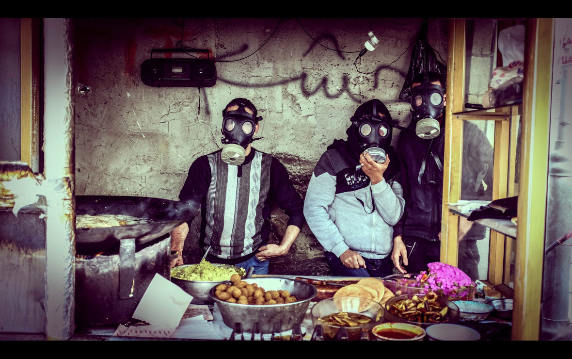 Falafel With A Side of Tear Gas, © Shadi Rahimi, Palestine, Allard Prize Photography Competition