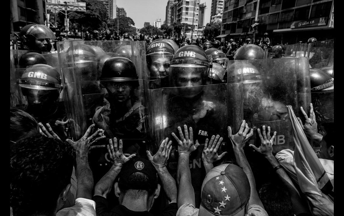 Resistance, © Horacio Siciliano, Venezuela, Allard Prize Photography Competition