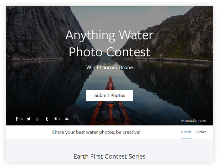 Anything Water Photo Contest