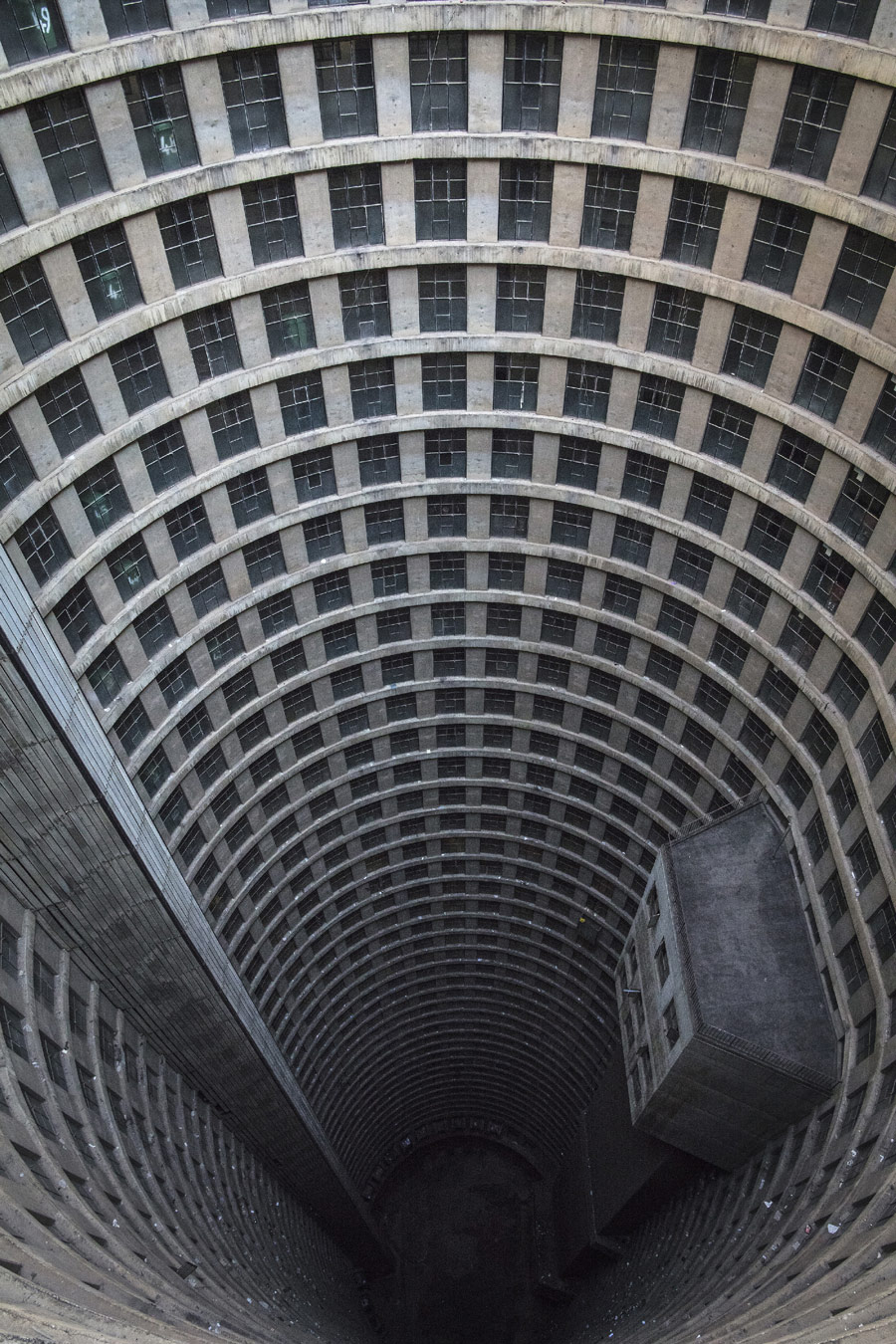 Photographer: Ryan Koopmans, Project: Ponte City Apartments in Johannesburg, South Africa by architect Manfred Hermer, Architectural Photography Awards