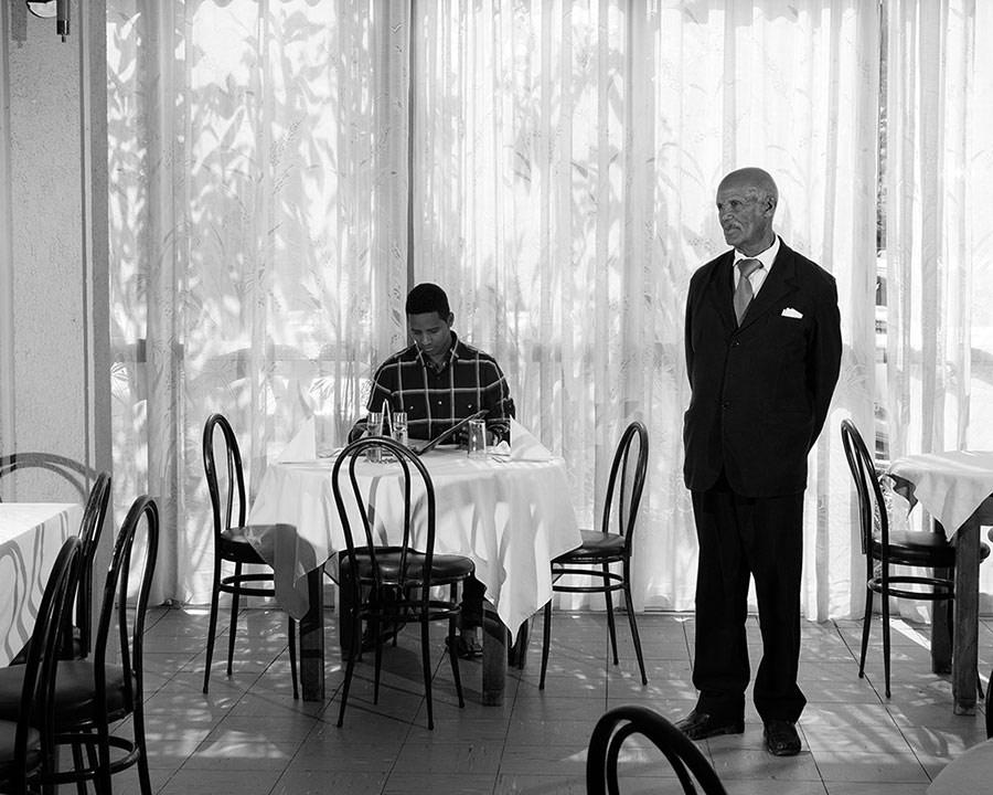 Restaurant, Hotel Embasoira, © Eli Durst, Aperture Portfolio Prize