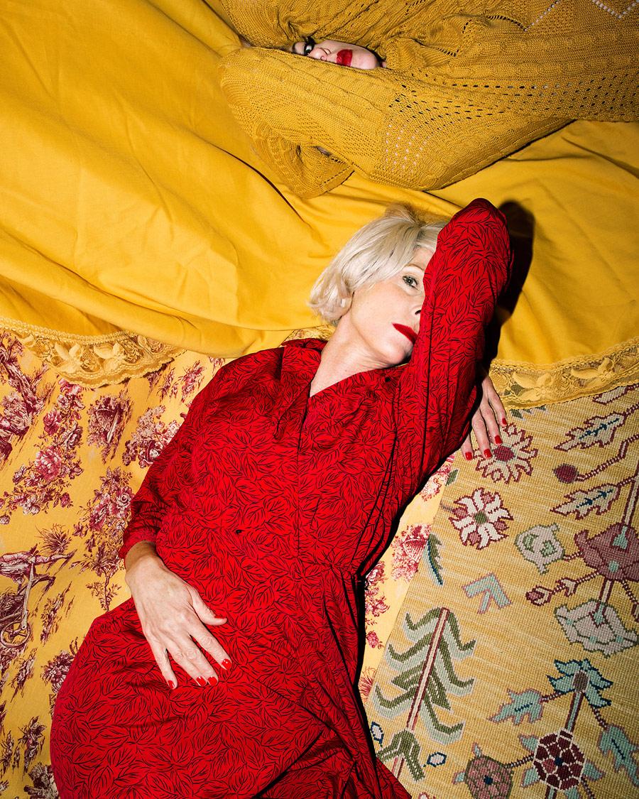 Me posing as Mom posing as Marilyn, © Natalie Krick, Aperture Portfolio Prize