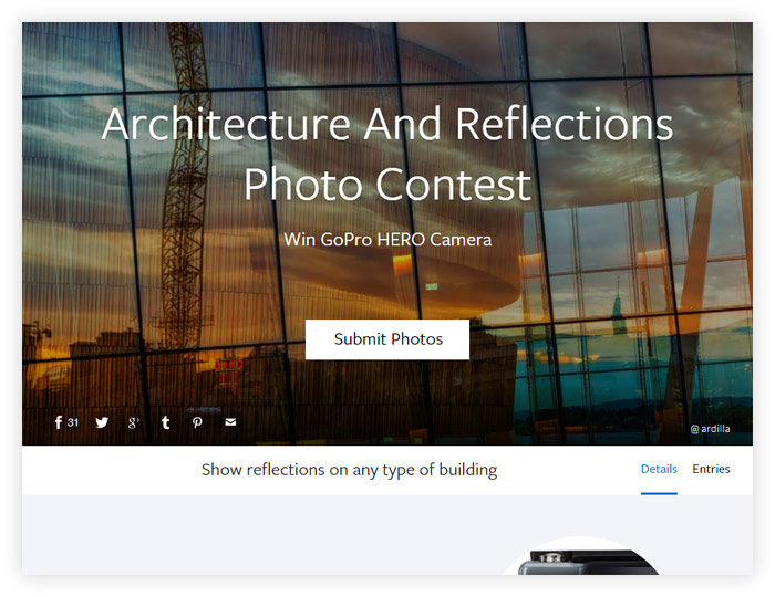 Architecture And Reflections Photo Contest