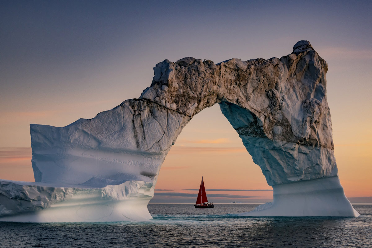 "© Kerry Koepping, 3rd place Landscape Category, Location: Disko Bay, Greenland, Arctic Biodiversity ""Through The Lens"" Photography Competition"