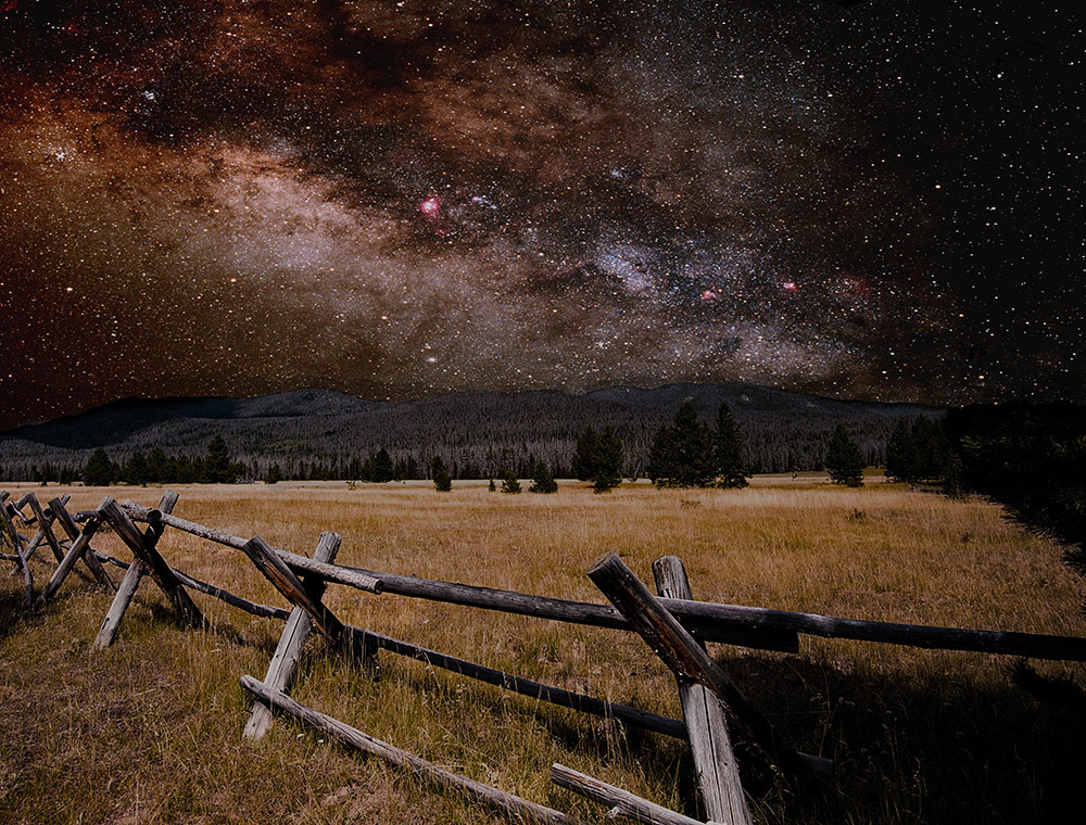 A Starry Night Above, © Jason Levi, USA, Fourth Place, Scapes International Fine Art Competition