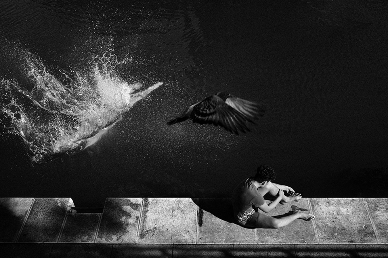 Untitled © Hugo Aymar, Documentary — Winner (Single), ASPA - Alghero Street Photography Awards