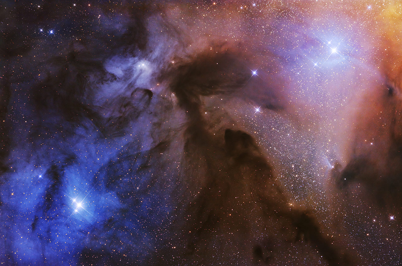 The Rho Ophiuchi Cloud, © Artem Mironov, APY 2017 Overall Winner, Astronomy Photographer of the Year 2017 Winner