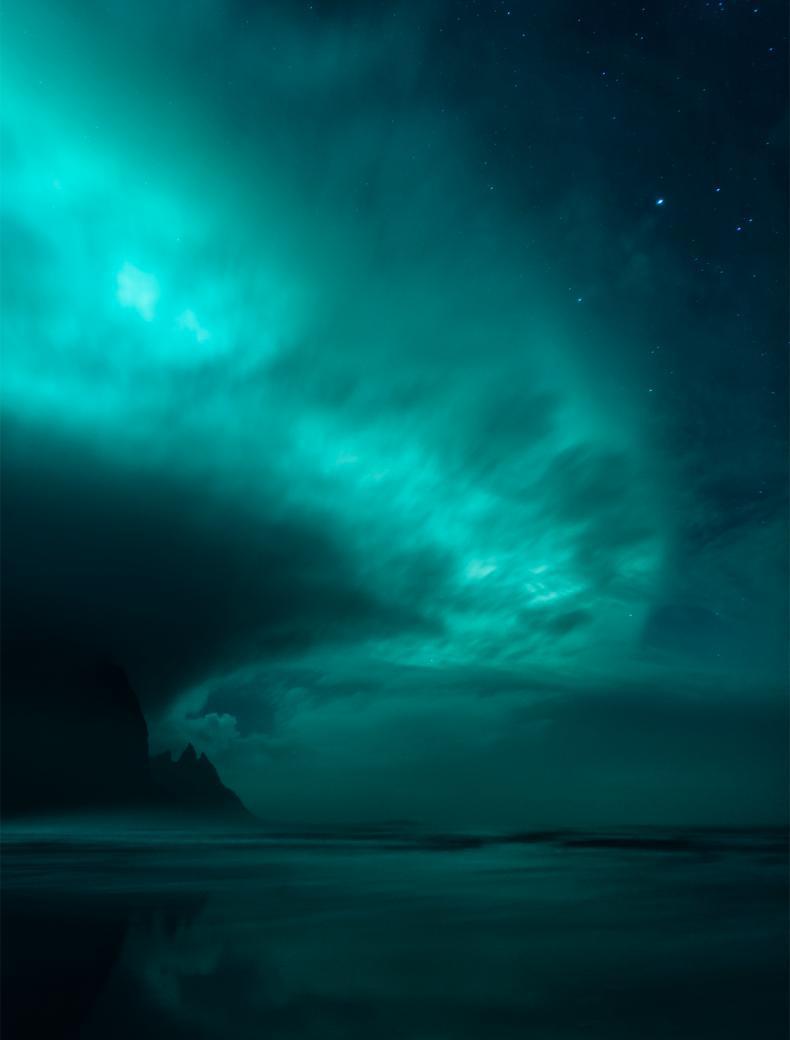 Ghost World, © Mikkel Beiter, Denmark, Winner in category Aurorae, Astronomy Photographer of the Year 2017 Winner