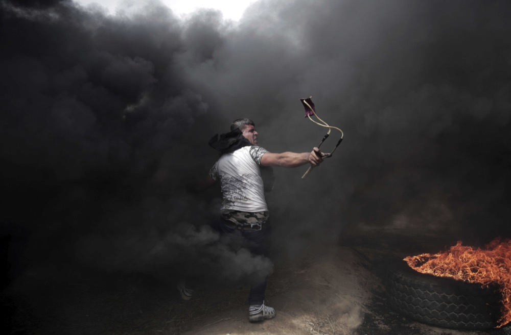 © Khalil Hamra / Associated Press, First Place, Atlanta Photojournalism Contest