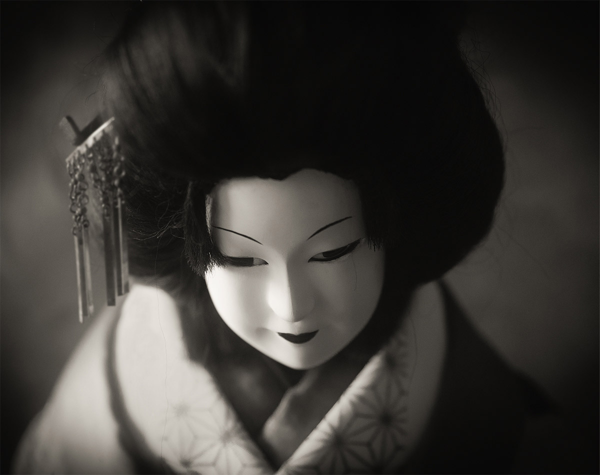 Oshichi, © Michiko Chiyoda, Japan, Finalist, Black & White Photography Awards - Dodho Magazine