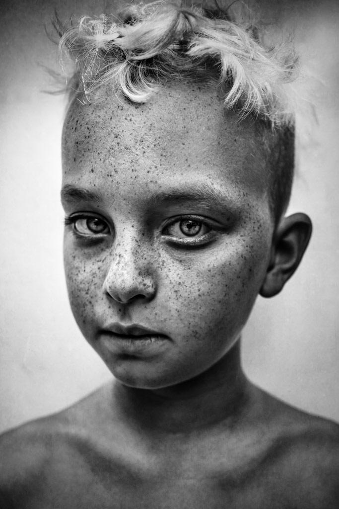 Zephyr, © Lee Jeffries, UK, 1st Place, B&W Child Photo Contest