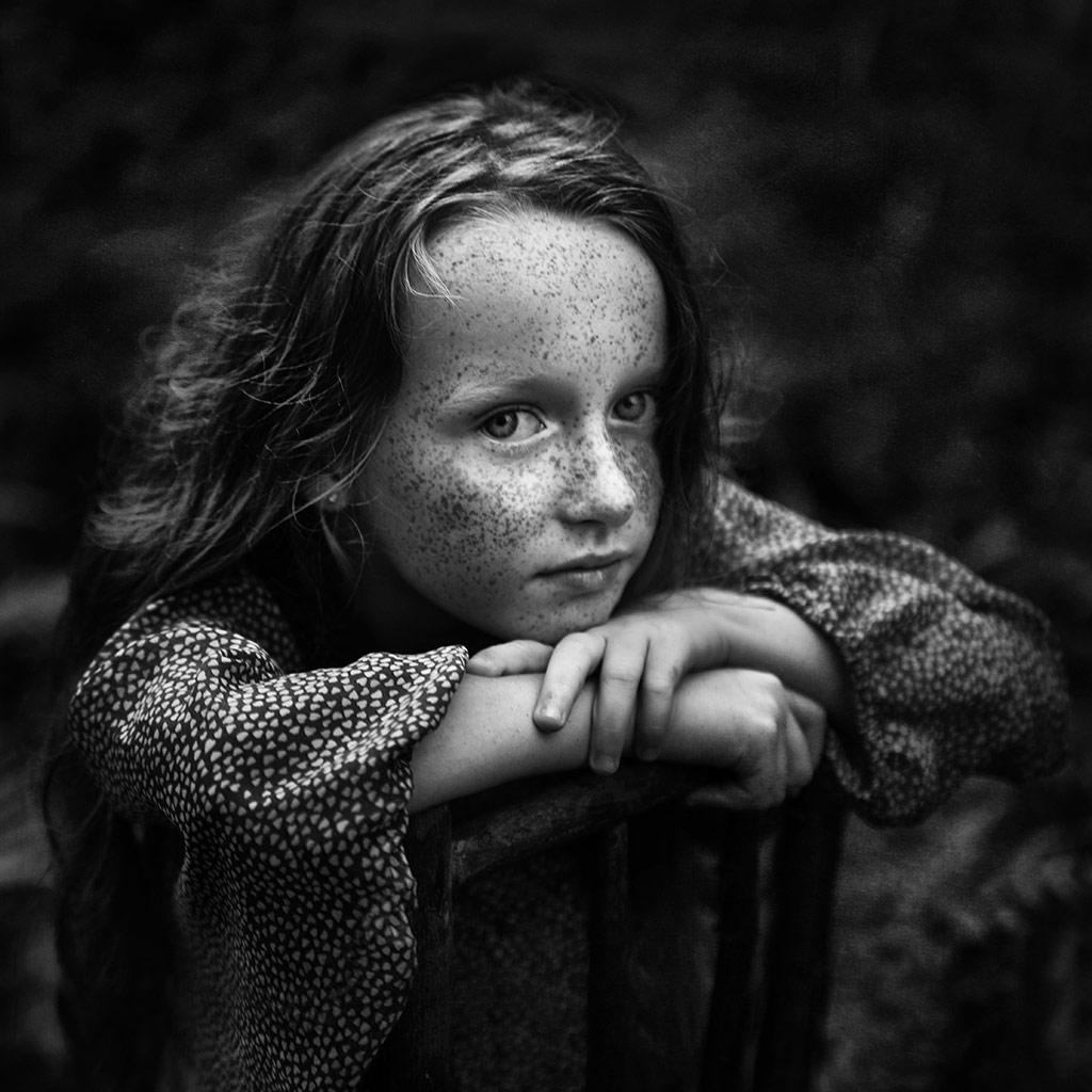 Olivia 5, © Kamila Celary-Kmiecik, Poland, B&W Child Photo Contest