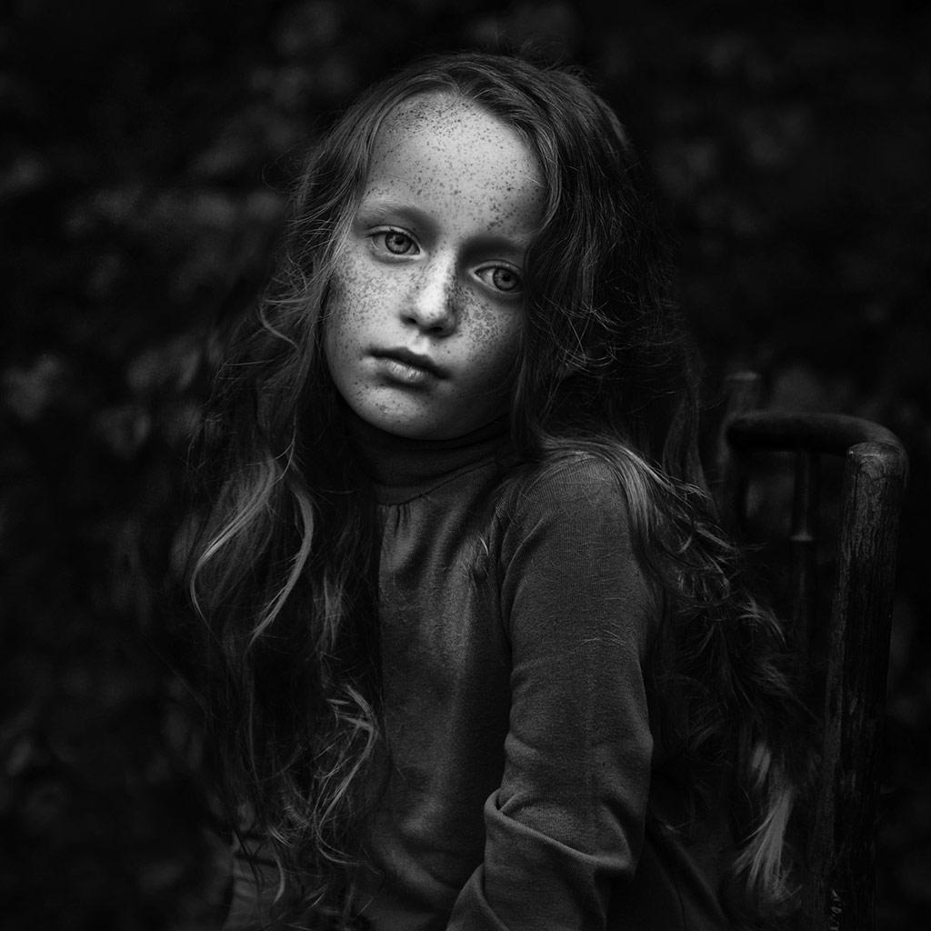 Olivia 3, © Kamila Celary-Kmiecik, Poland, B&W Child Photo Contest