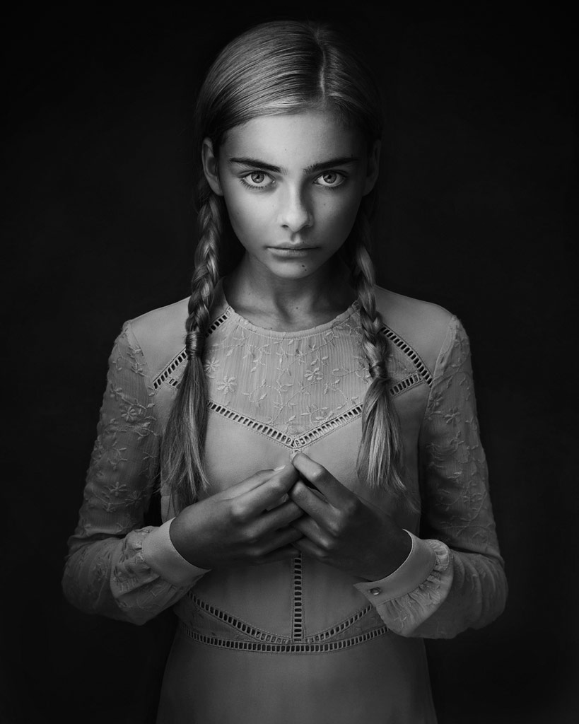 Harley, © Lisa Visser, UK, B&W Child Photo Contest