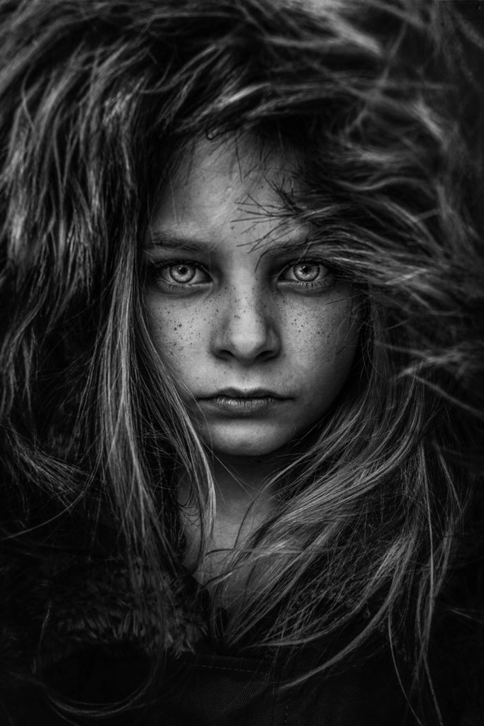 Isabelle, © Lee Jeffries, UK, B&W Child Photo Contest