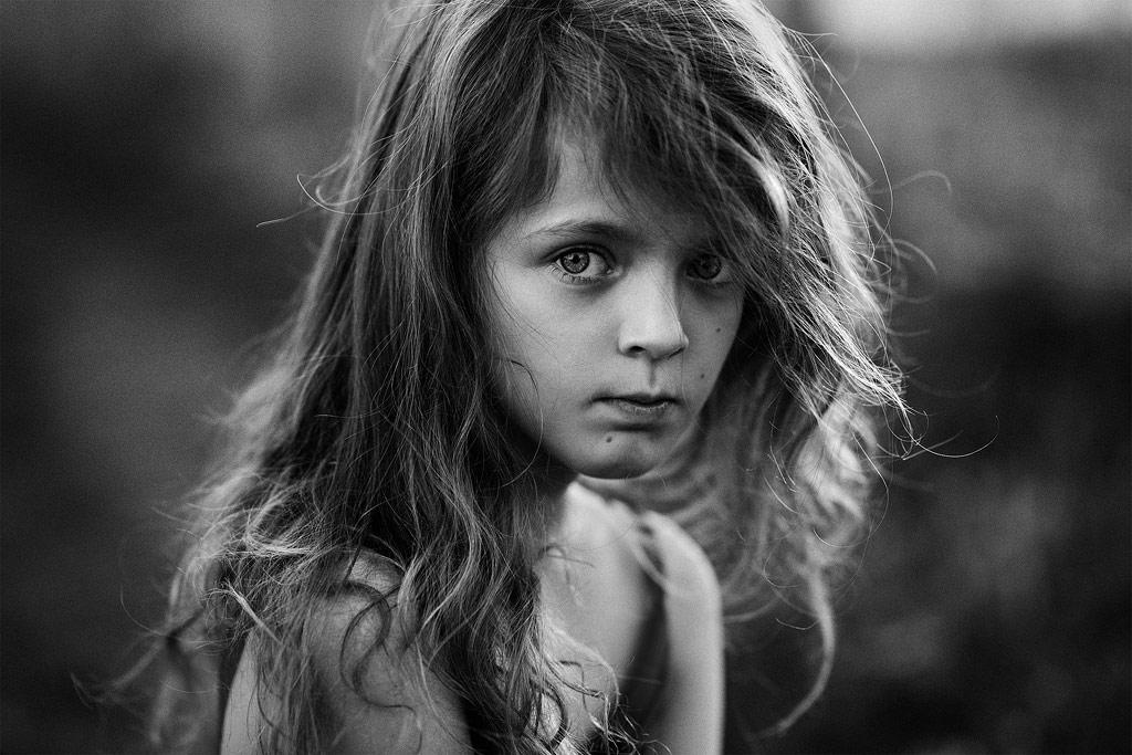 Sofie, © Svetlana Kuzmina, Norway, B&W Child Photo Contest