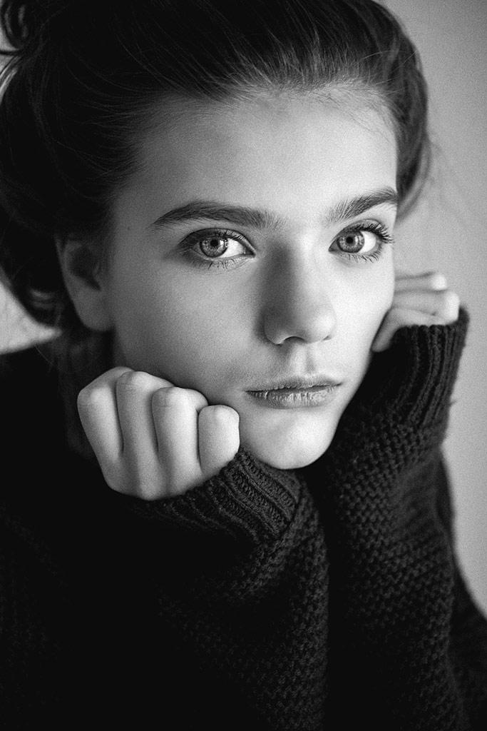 Patrycja, © Jagoda Gramala, Poland, B&W Child Photo Contest
