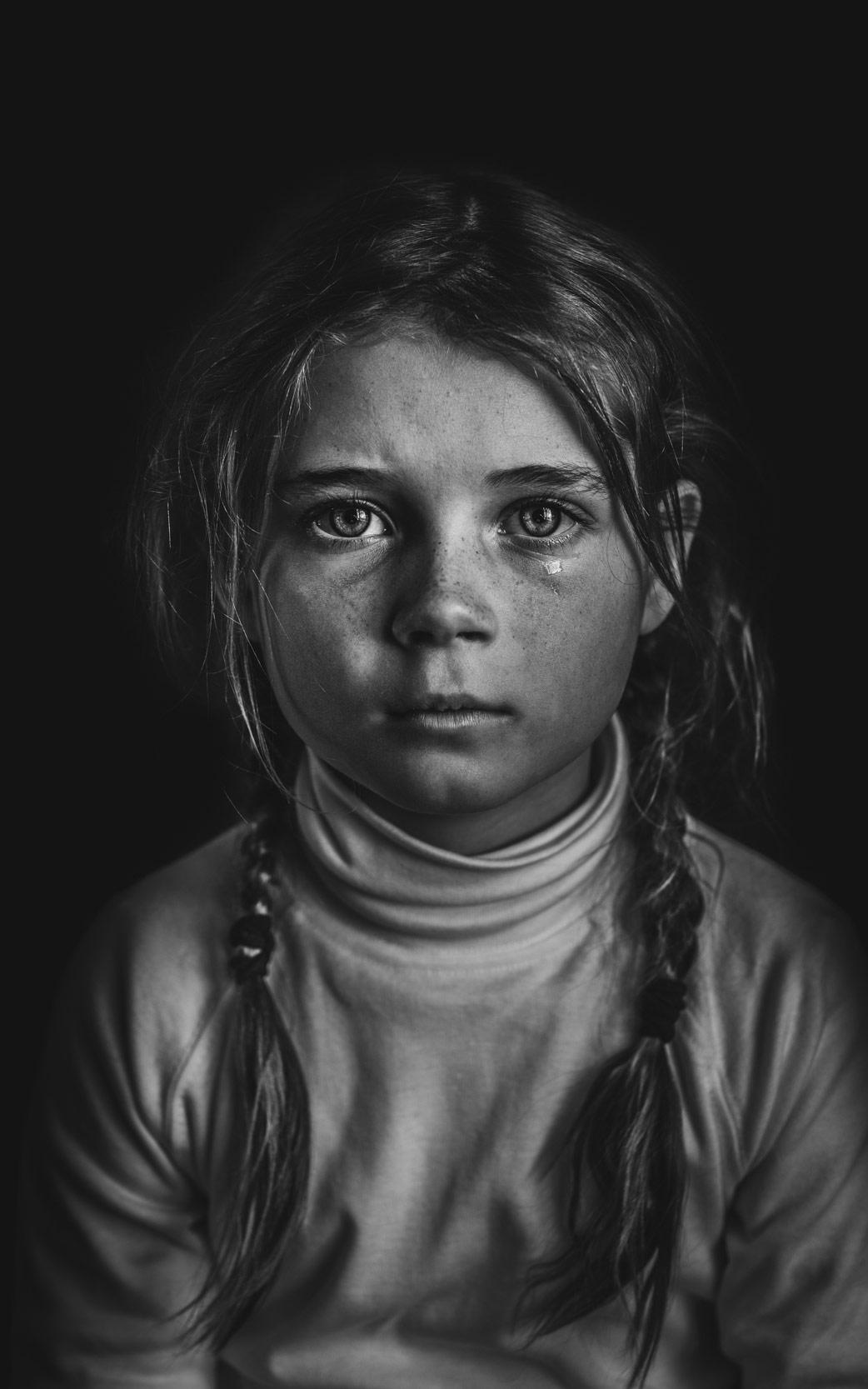 Always a Drama, © Helen Whittle, Australia, B&W Child Photo Contest