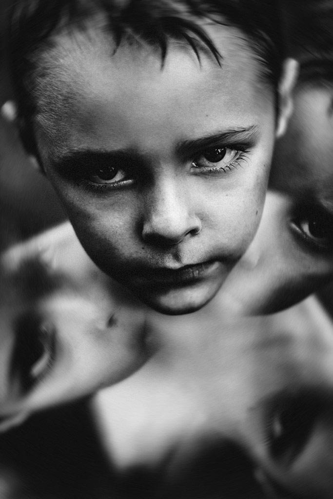 Split by, © Bronwyn Katzke, South Africa, B&W Child Photo Contest