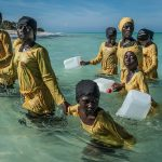 Finding Freedom in the Water, 2016, © Anna Boyiazis, The Contemporary African Photography Prize - CAP Prize