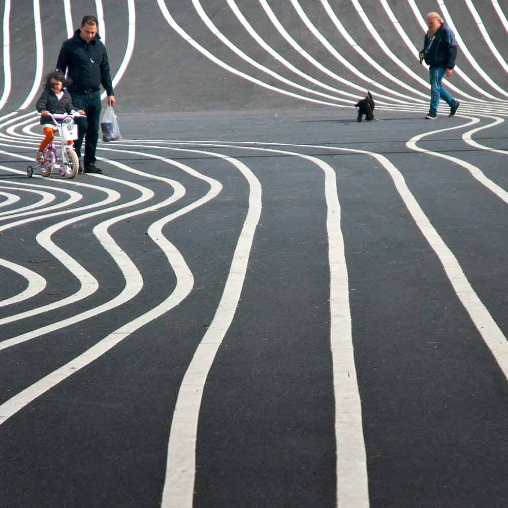 © Darrell Godliman, 1000 Hourly Runner Up. Copenhagen Contours, Photo Location: Copenhagen, Denmark, CBRE Urban Photographer of the Year