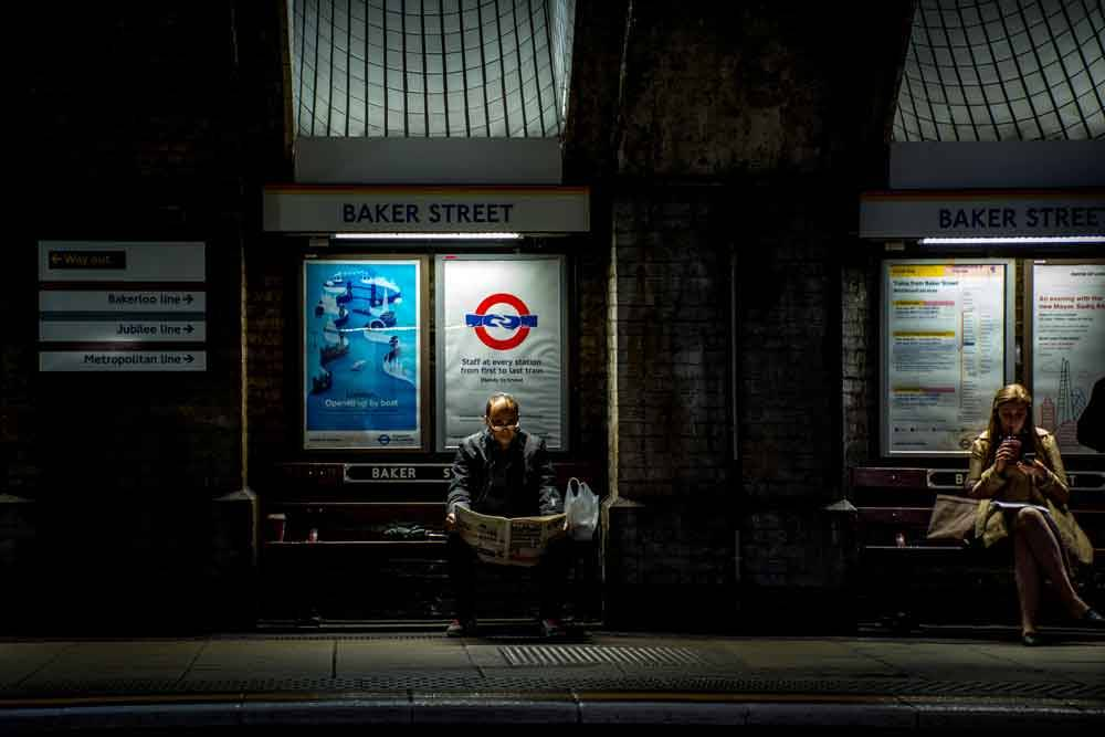 © Paul Wilkinson, 21 Hourly Runner Up. Commuters, Photo Location: London, United Kingdom, CBRE Urban Photographer of the Year