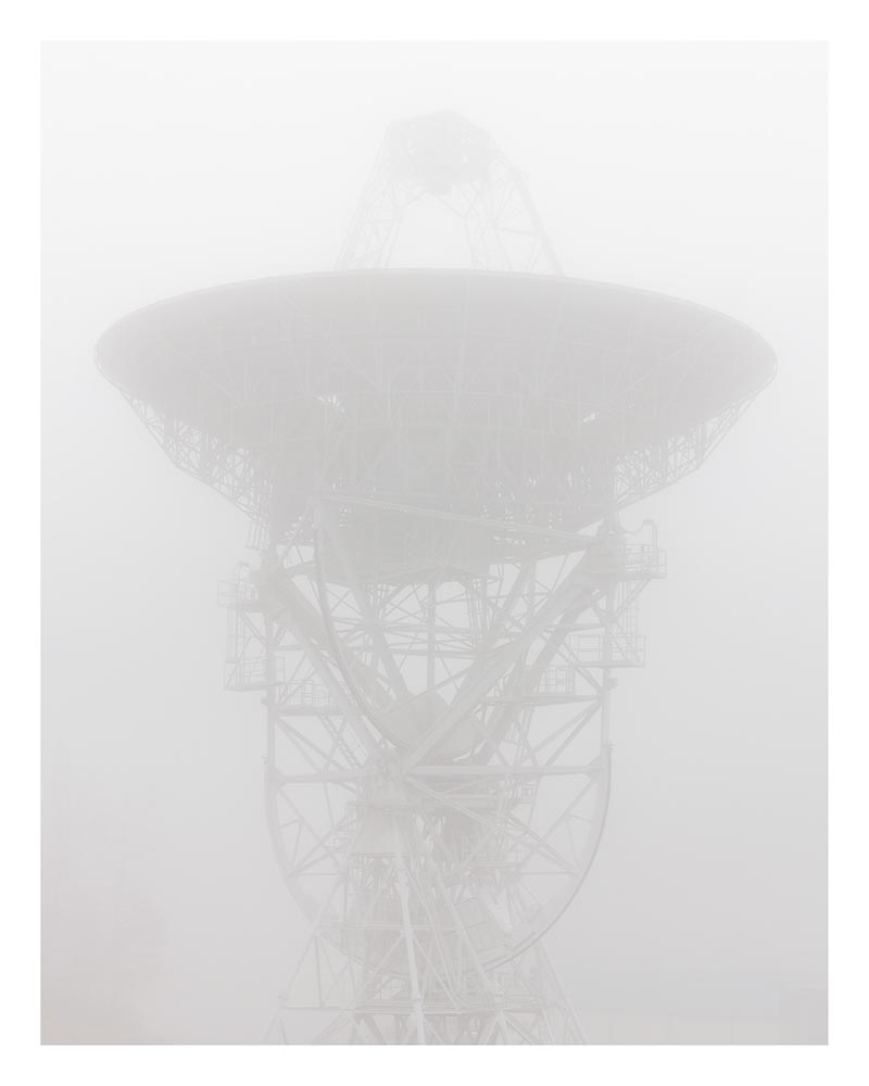 """26 Meter Radio Telescope, 2016"". Project: Standard Stars, © Eric William Carroll, Minneapolis, MN, Center — Review Santa Fe 2017"