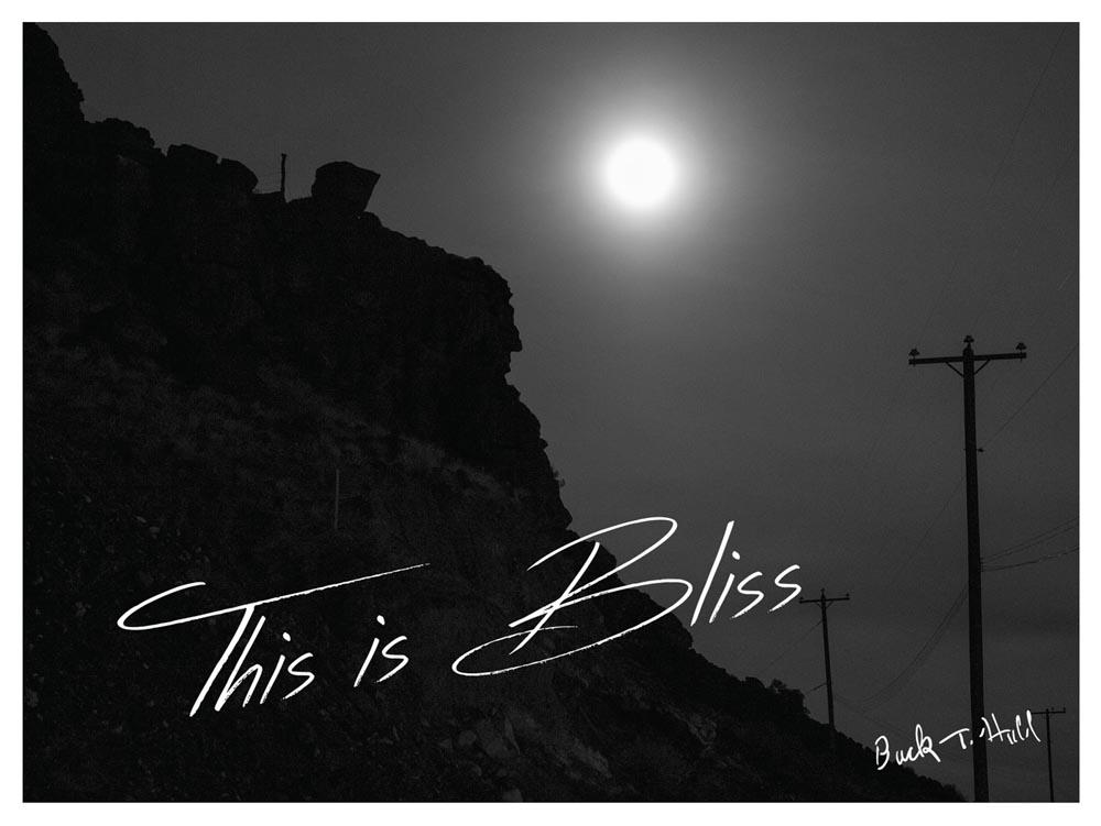 """Buck Hall's Million Dollar Postcard"". Project: This Is Bliss, © Jon Horvath, Milwaukee, WI, Center — Review Santa Fe 2017"