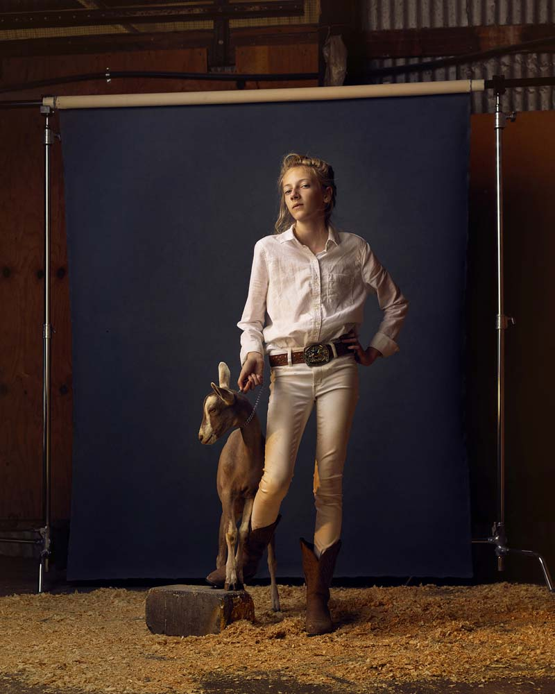 """Kenzi and Hootie, Anoka County Fair"". Project: The Unchosen Ones, © R.J. Kern, Minneapolis, MN, Center — Review Santa Fe 2017"