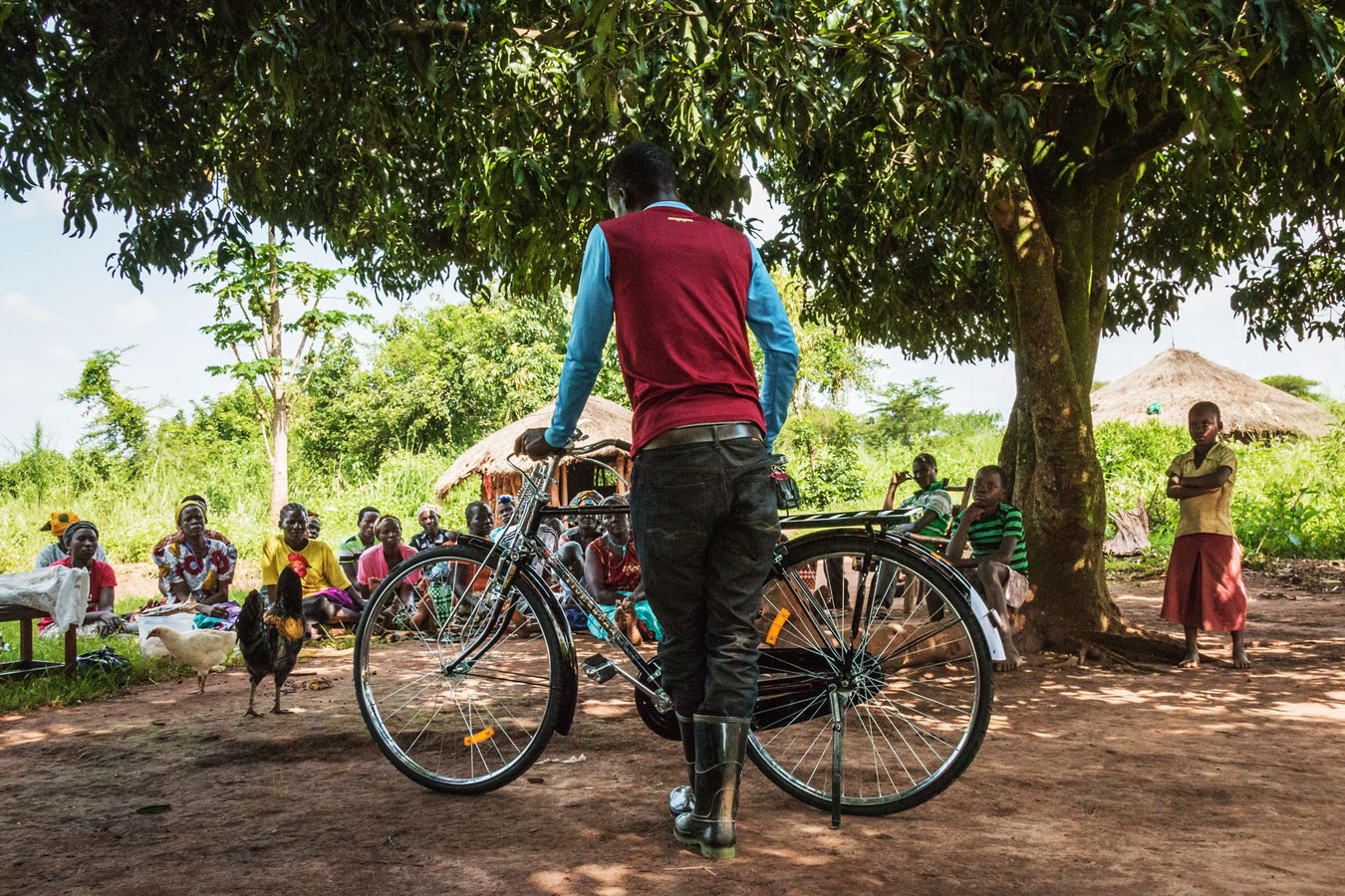 Bicycle Distributions, © Kevin Di Salvo, Uganda, Theme Winner: Building Sustainable Livelihoods, CGAP Photo and Video Contest