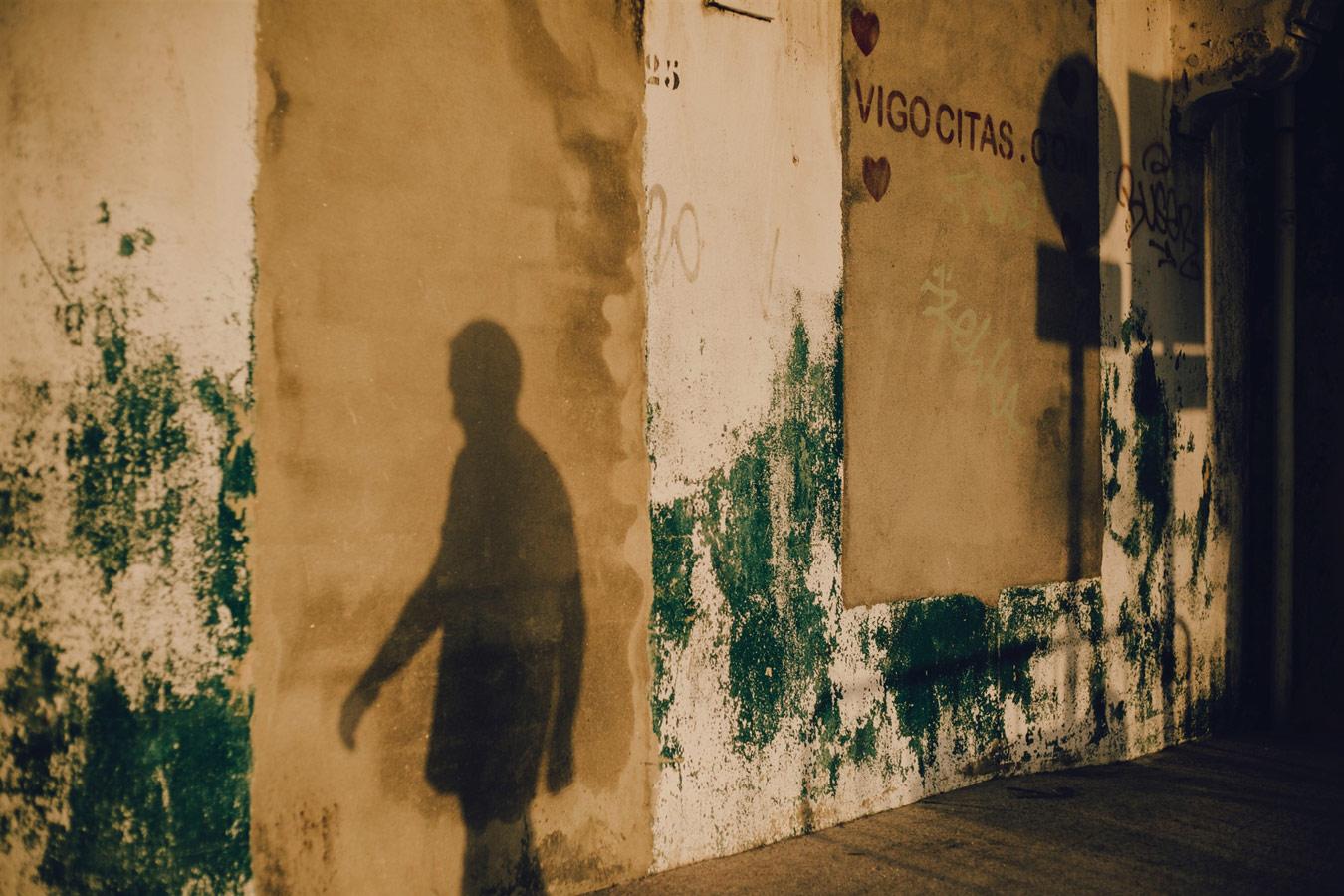 © Tiberio Ventura, Shadow, Camino de Santiago, Photography 12 x 17, The Chelsea International Photography Competition