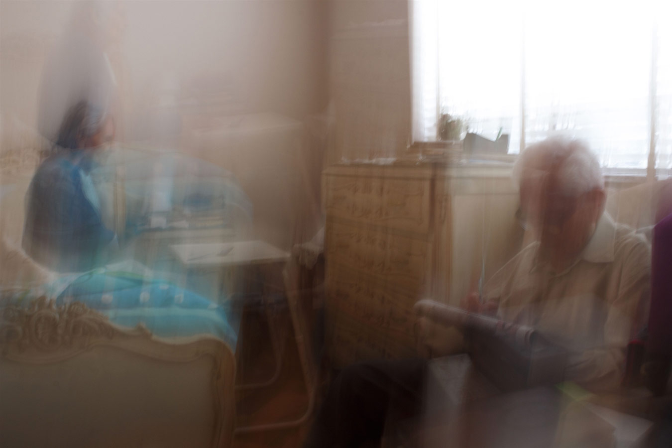 © María Alejandra Olórtegui, Abuelos, Photography 24 x 14, The Chelsea International Photography Competition
