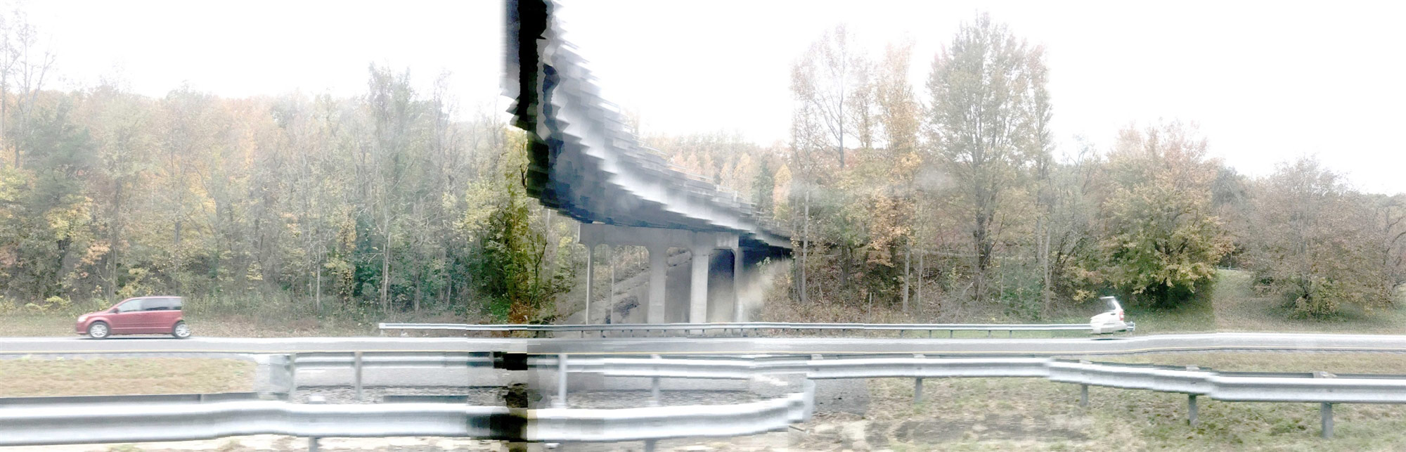 © Nathan Raymond Goddard, MemoryPanoScape Automobile Asheville..., Photography 8 x 25, The Chelsea International Photography Competition