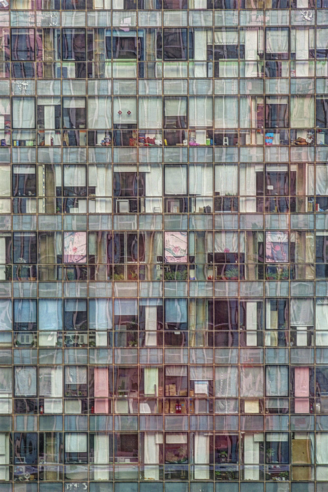 © Tom Stahl, Out my Beijing hotel window #1: Office building, Photography 20 x 13, The Chelsea International Photography Competition