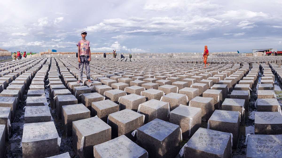 Locally-Produced Concrete Blocks to Reinforce Embankments, 4 minutes 27 seconds, © Carrie and Eric Tomberlin, United States, 1st Place Environmental Professional, Chromatic Photography Awards
