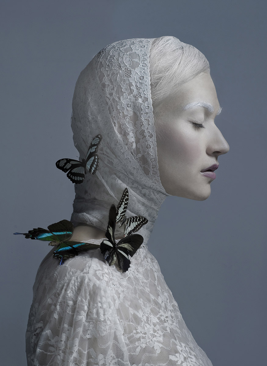 Sasha / White Monarchy, © Marzena Kolarz, Poland, 1st Place Fashion and Beauty Professional, Chromatic Photography Awards