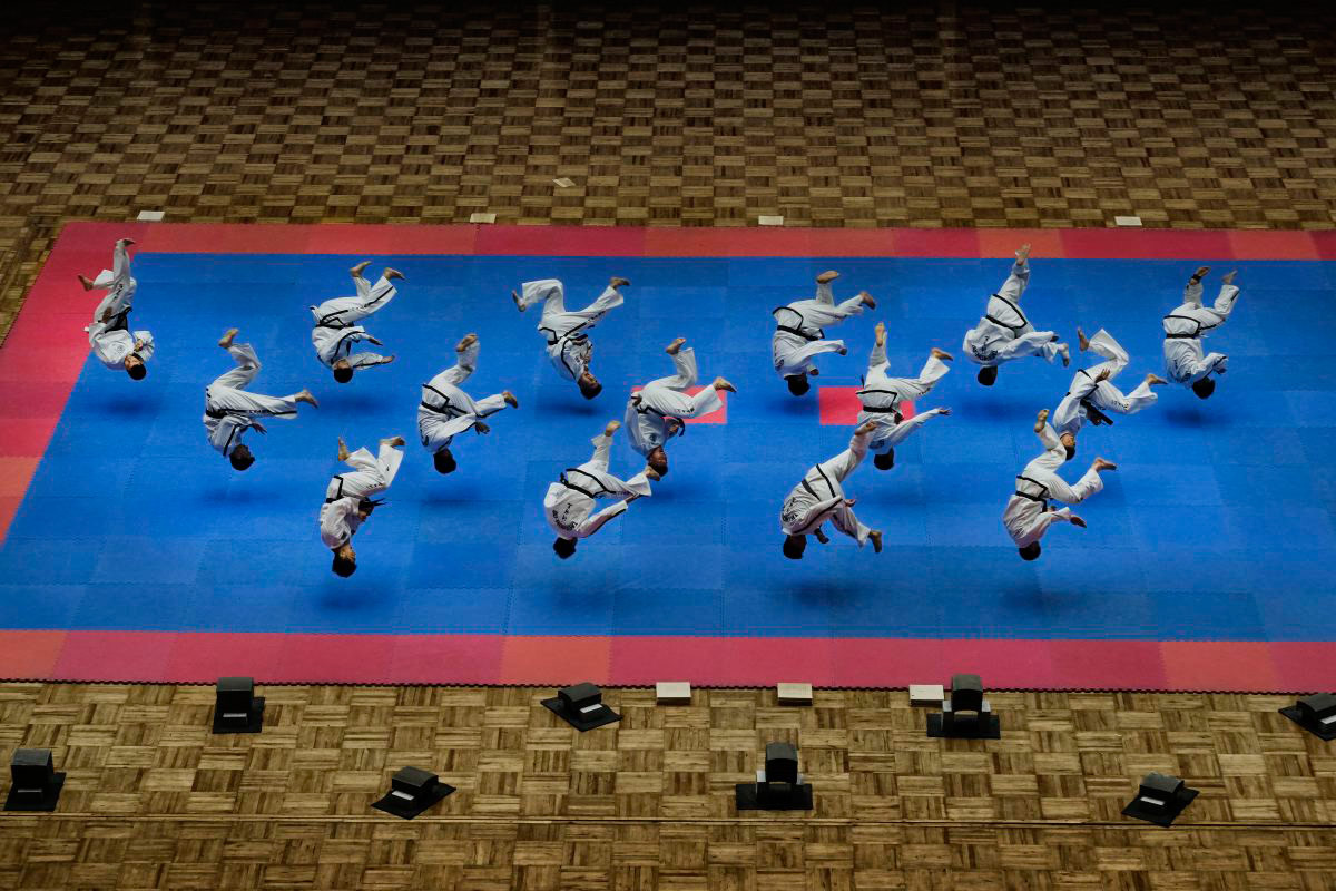 1st Place Sports, © Alain Schroeder Schroeder, Belgium, Taekwondo North Korea Style, Chromatic Awards - International Color Photography Contest
