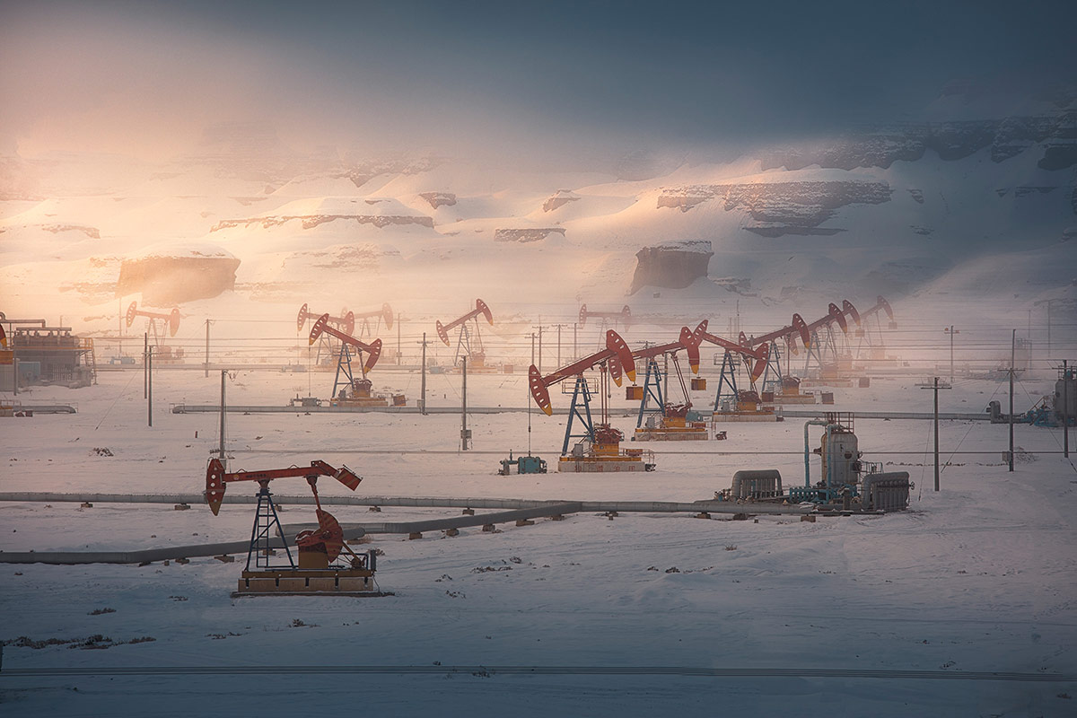 1st Place Environmental, © YI LIU, China, Oil Field, Chromatic Awards - International Color Photography Contest