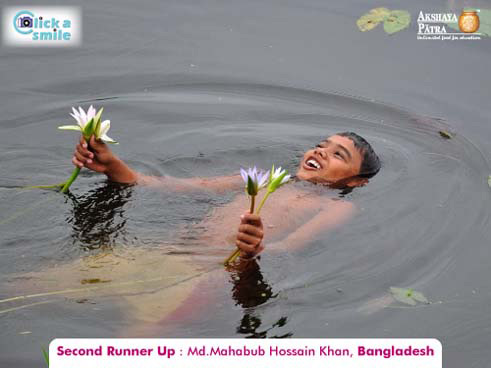 Md.Mehabub Hussain Khan, (Bangladesh), Second Runner Up, Click A Smile Photography Contest