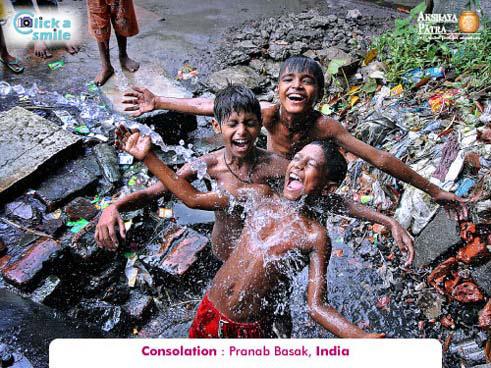 Pranab Basak (India), Consolation, Click A Smile Photography Contest