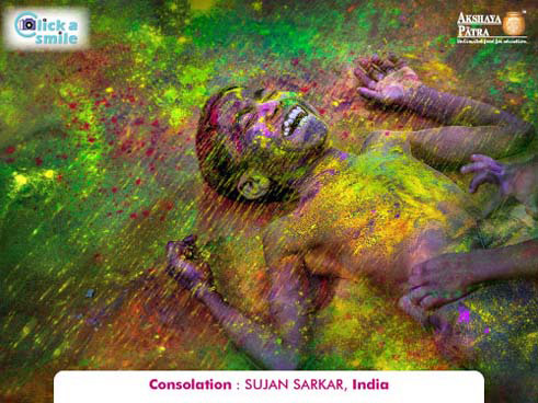Sujan Sarkar (India), Consolation, Click A Smile Photography Contest