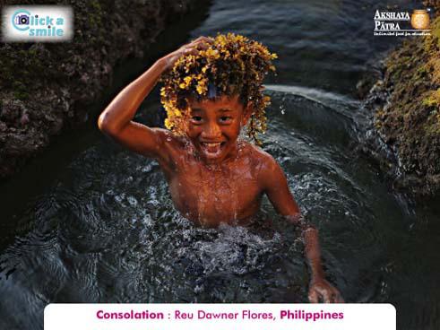 Reu Dawner Flores (Phillippines), Consolation, Click A Smile Photography Contest
