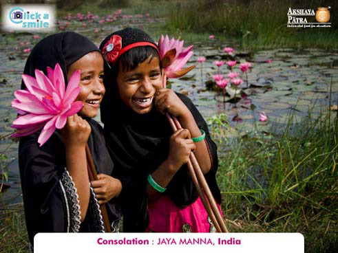 Jaya Manna (India), Consolation, Click A Smile Photography Contest
