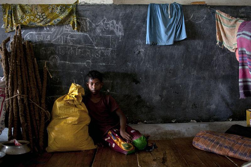Climate Refugee, © K M Asad, Bangladesh, 1st Place - Outstanding Achievement, International Color Awards