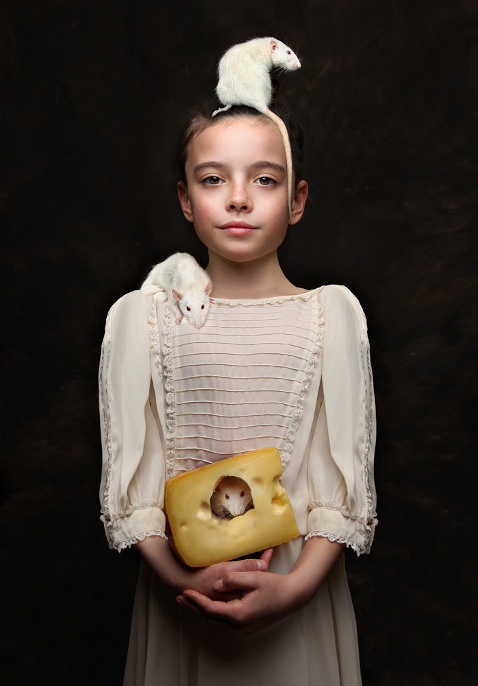 Marcys and friends, © Rachel Stewart, UK, January 2019 Winner, CPC Portrait Awards - Photo Competition for Child Portrait Photographers