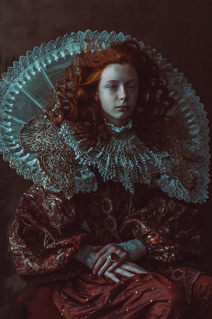 Prince of the Red Desert, © Katarzyna Widmanska, November 2019 Winner, CPC Portrait Awards